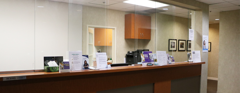 front desk Aurora medical clinic