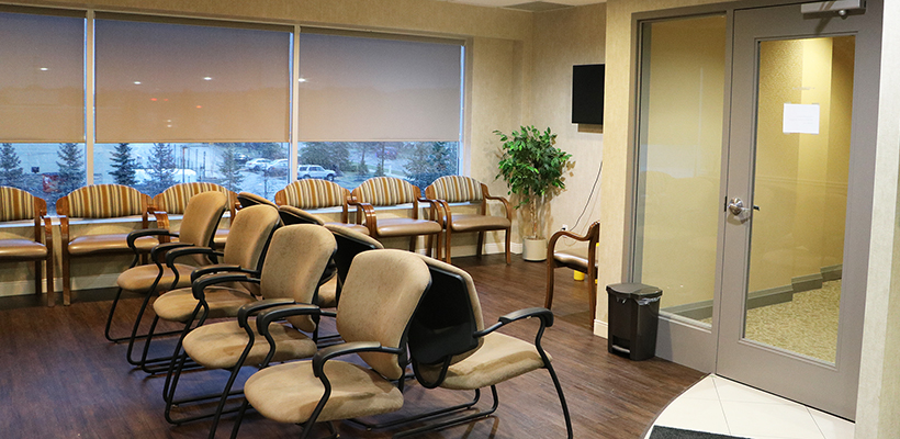 Waiting Area Aurora medical clinic